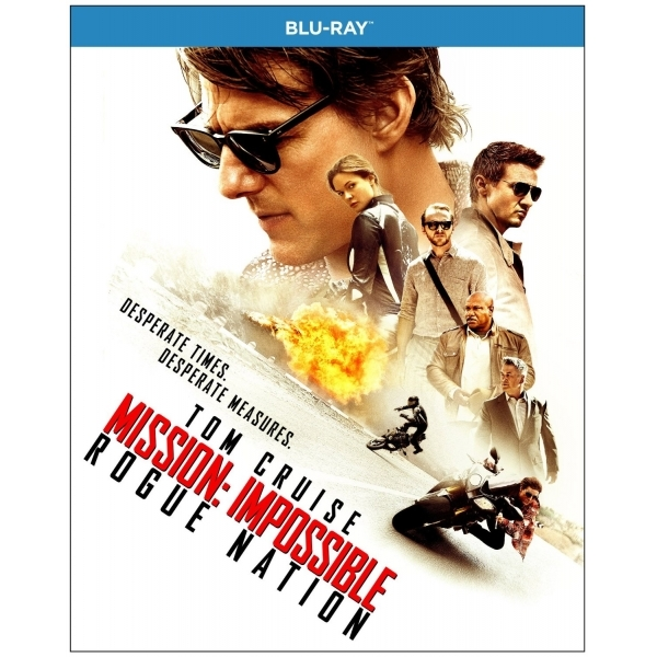 Mission Impossible: Rogue Nation Blu-ray