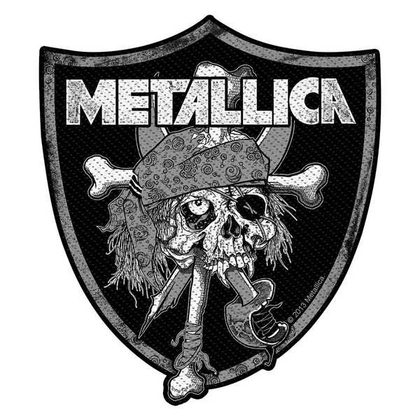 Metallica - Raiders Skull Standard Patch