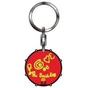The Beatles Love Thick Metal Keyring
