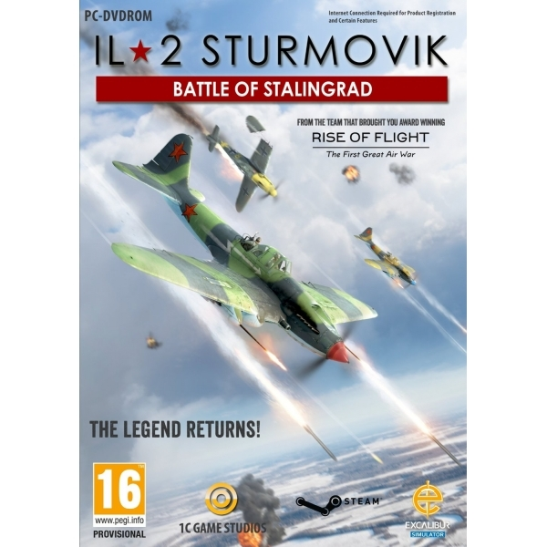 IL-2 Sturmovik Battle of Stalingrad PC Game