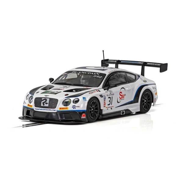 Bentley Continental GT3 Team Parker Racing Brands Hatch 2018 1:32 Scalextric Car