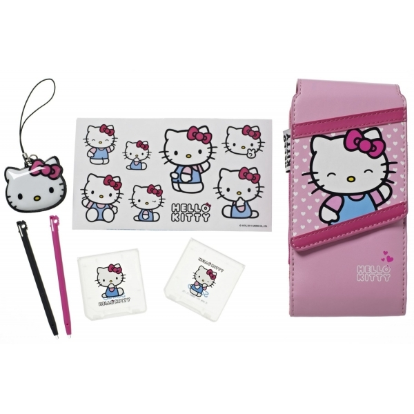 Hello Kitty Accessory Pack Pink DS / DSi / 3DS / DS Lite