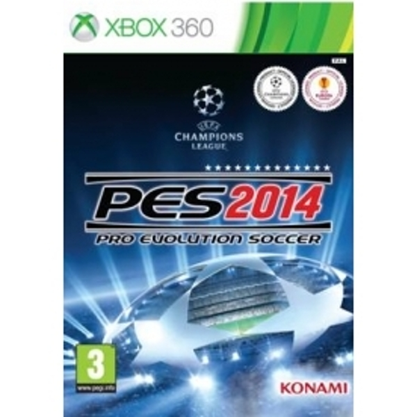 Pro Evolution Soccer 2014 PES 14 + Classic European Kits DLC Game Xbox 360
