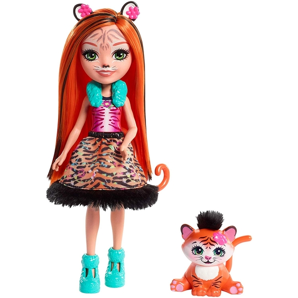 Enchantimals Tanzie Tiger Doll - Image 1