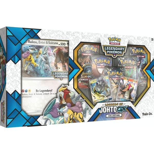 Pokemon TCG: Legends Of Johto GX Collection