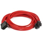 Phanteks 8-Pin EPS12V Cable Extension 50cm - Sleeved Red