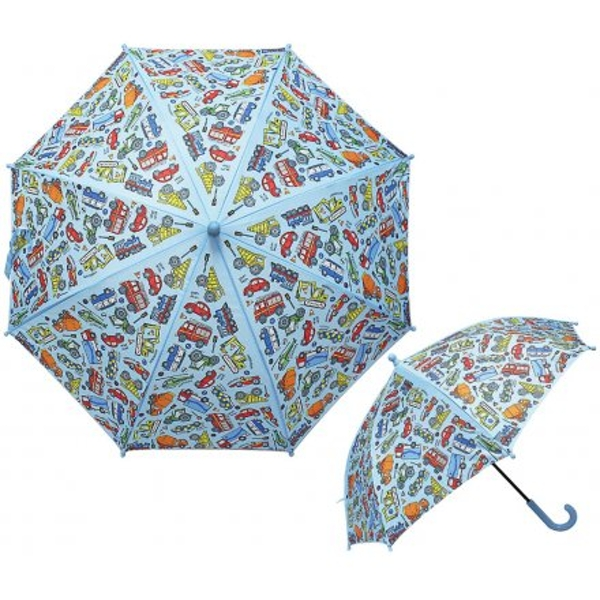Colourful Cars Childrens Umbrella