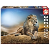 Educa Lion His Majesty 1000 Piece Jigsaw Puzzle