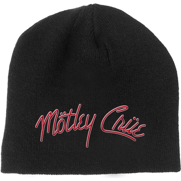 Motley Crue - Logo Men's Beanie Hat - Black