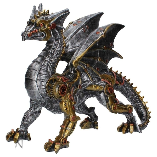 Dracus Machina Figurine