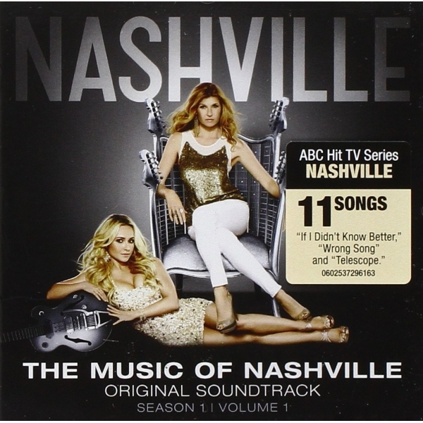 Music of Nashville Season 1 Vol. 1 Original Soundtrack CD