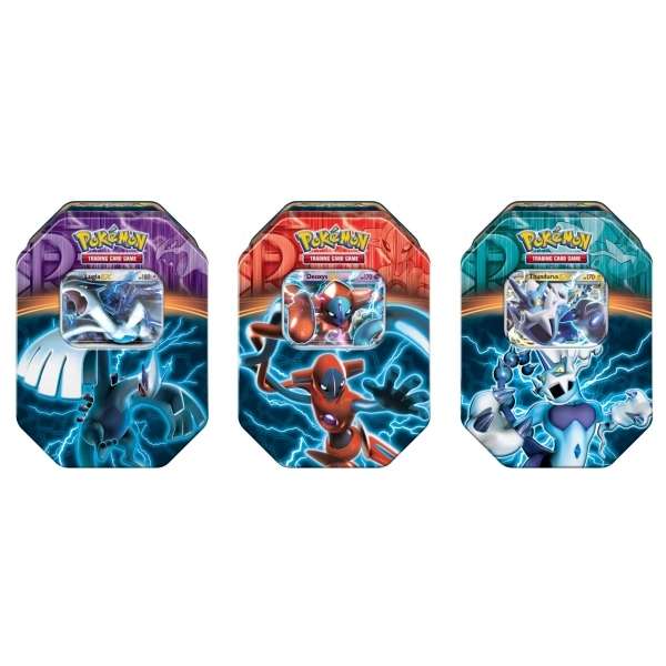 Pokemon TCG 2013 EX Power Fall Edition Tin