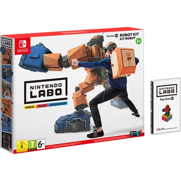 Nintendo Labo Toy-Con 02: Robot Kit for Nintendo Switch - Image 1