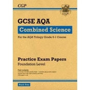New Grade 9-1 GCSE Combined Science AQA Practice Papers: Foundation Pack 2 by CGP Books (Paperback, 2017)