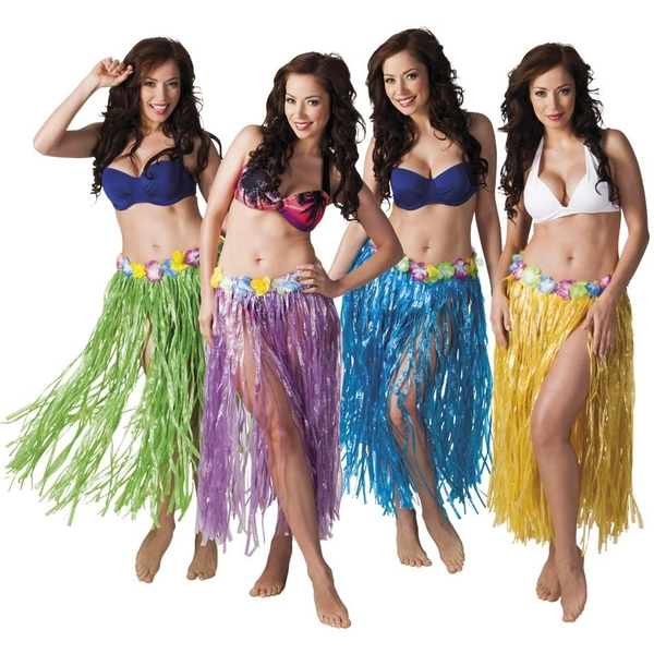 Hawaiian Skirt Adults Fancy Dress