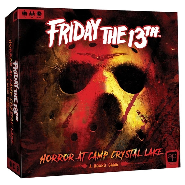 Friday the 13th: Horror at Camp Crystal Lake Board Game