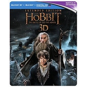 The Hobbit: The Battle Of The Five Armies 3D - Extended Edition Steelbook Blu-ray
