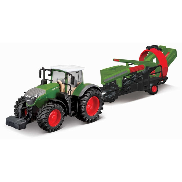 Fendt Vario With Cultivator Tractor Model