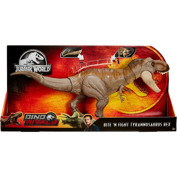 Jurassic World Bite N Fight T Rex - Image 1