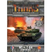 TANKS: The Modern Age Starter Set - M1 vs T-64 Board Game