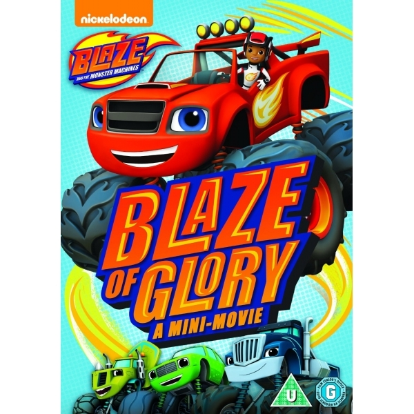 Blaze And The Monster Machines: Blaze Of Glory DVD
