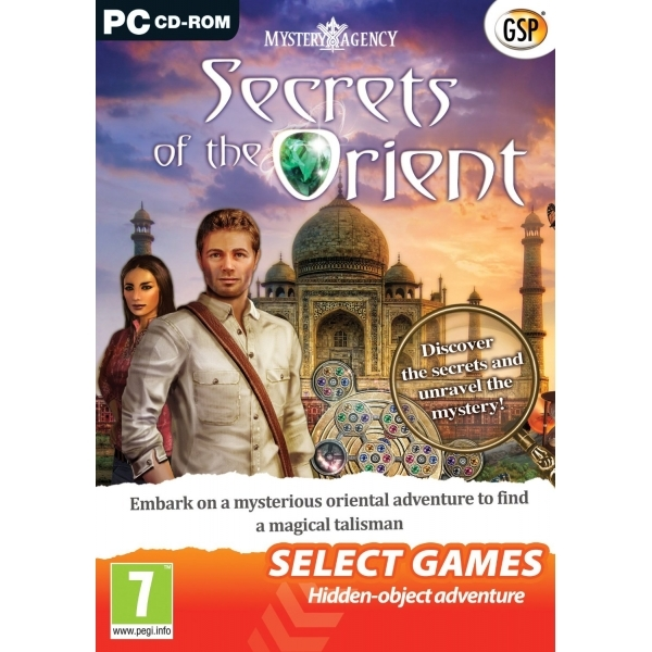 Mystery Agency Secrets of the Orient Game PC