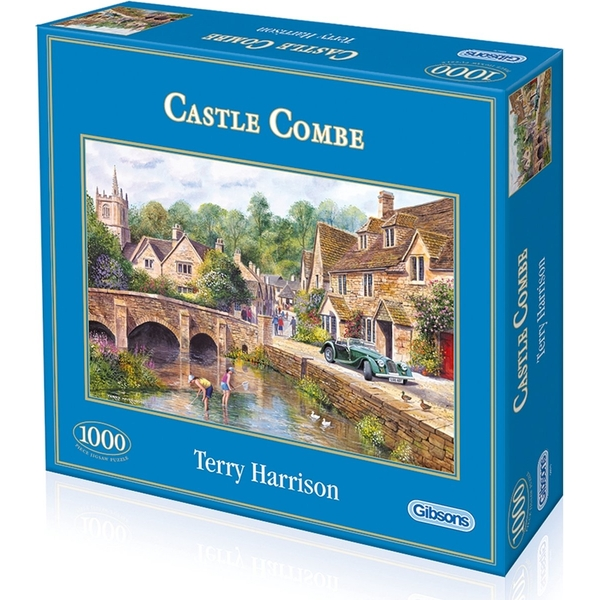 Gibsons Castle Combe Jigsaw Puzzle - 1000 Pieces