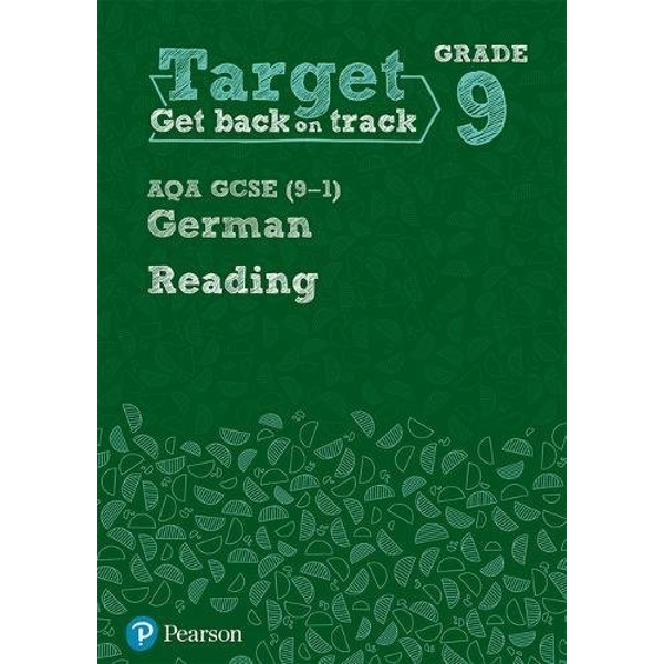 Target Grade 9 Reading AQA GCSE (9-1) German Workbook  Paperback / softback 2018