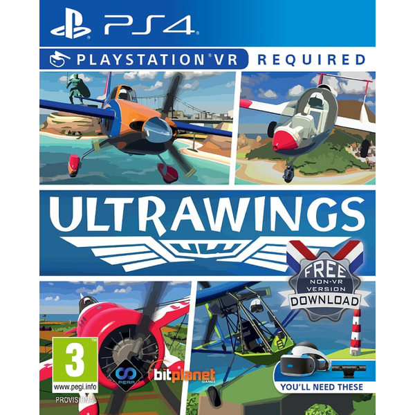 Ultrawings PS4 Game (PSVR Required)