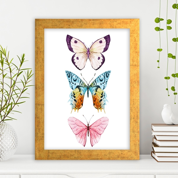 AC2788799661 Multicolor Decorative Framed MDF Painting