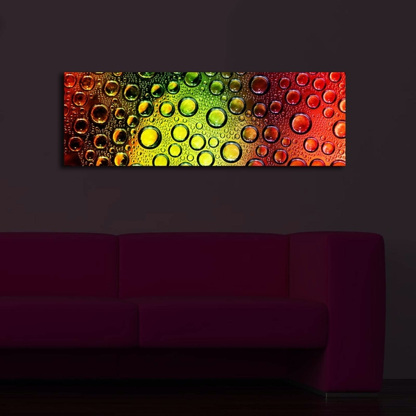 3090?ACT-40 Multicolor Decorative Led Lighted Canvas Painting