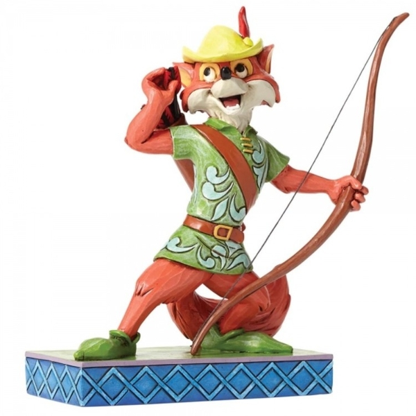 Disney Traditions Roguish Hero Robin Hood Figurine
