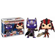 Black Panther vs Monster Hunter (Marvel vs. Capcom) Funko Pop! Vinyl Figure