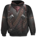 Holster Wrap Allover Men's Small Hoodie - Black - Image 2