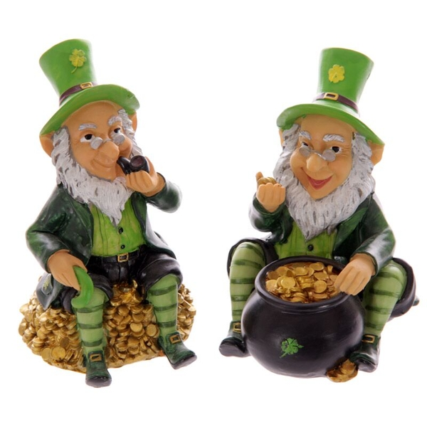 Lucky Leprechaun Money Box (1 Random Supplied)