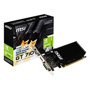 MSI GT 710 1GD3H LP NVIDIA GeForce GT 710 PCI Express 2.0 1 GB Graphics Card - Multi-Colour