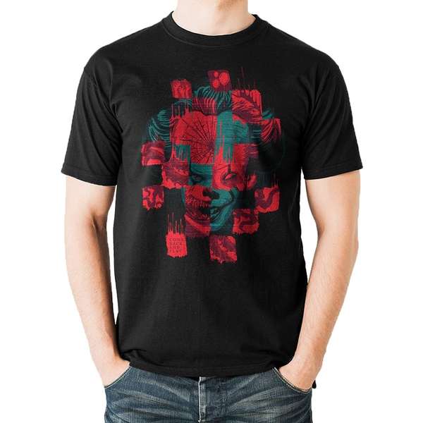 It Chapter 2 - Collage Men's Small T-Shirt - Black