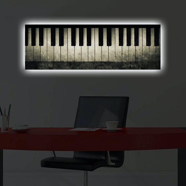 3090DACT-28 Multicolor Decorative Led Lighted Canvas Painting