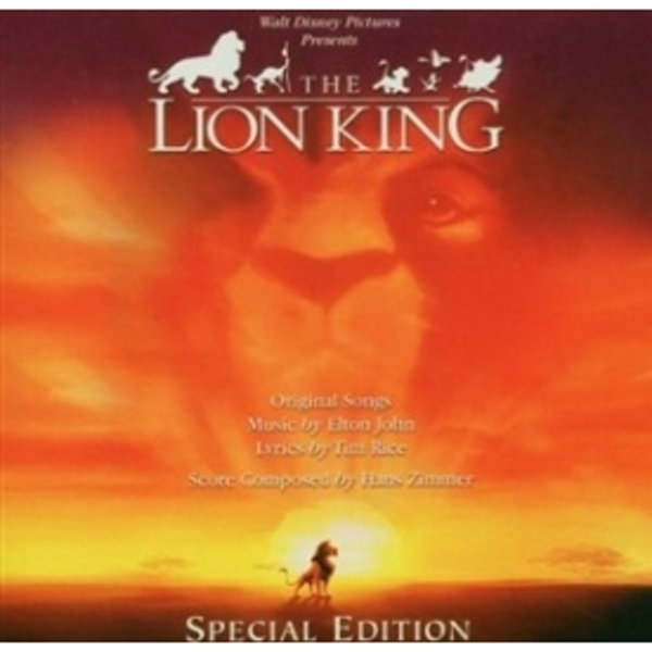The Lion King Special Edition Soundtrack CD