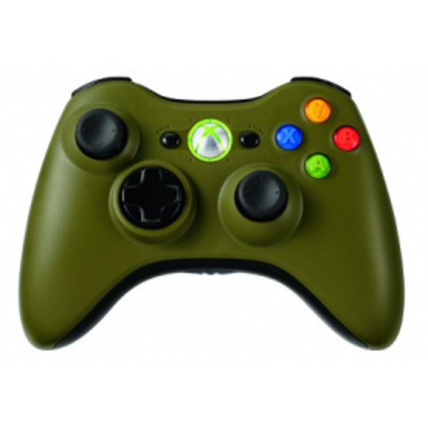 Wireless Controller In Army Green (Bagged) Xbox 360