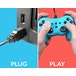 Subsonic PRO-S Blue Colorz Wired Controller for Nintendo Switch - Image 5