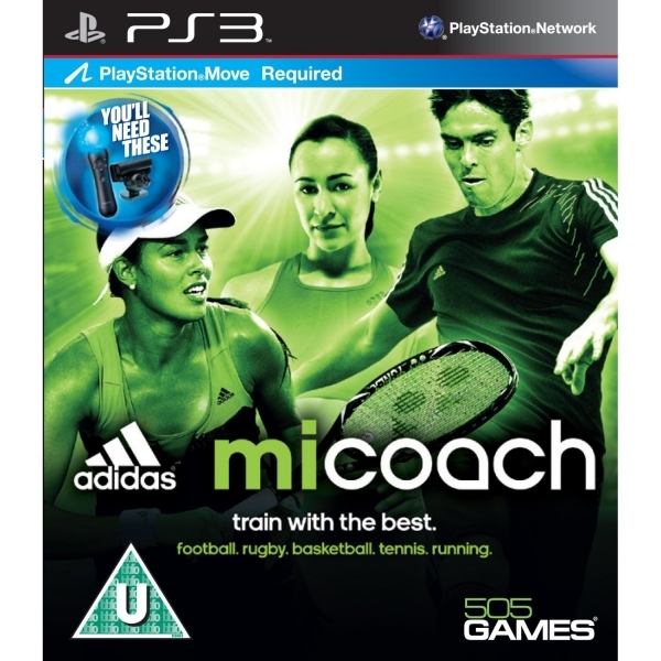 PlayStation Move Adidas miCoach Game PS3
