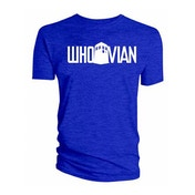 Doctor Who - Whovian Blue Men's X-Large T-Shirt - Blue