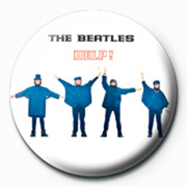 The Beatles - Help! Photo Badge - Image 1