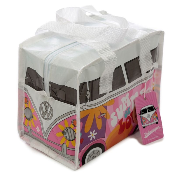 Volkswagen VW T1 Camper Bus Small Summer Love Lunch Bag