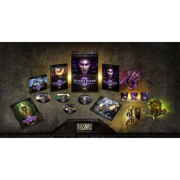 StarCraft II 2 Heart Of The Swarm Collector's Edition PC - Image 2
