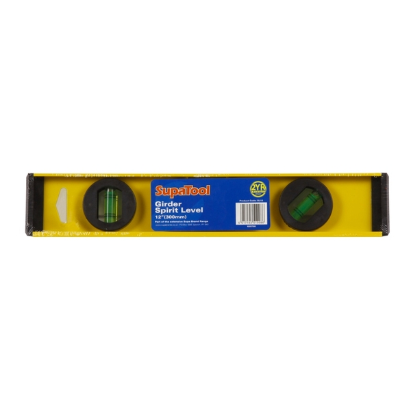 "SupaTool 12""/30cm Spirit Level 12"" (300mm)"
