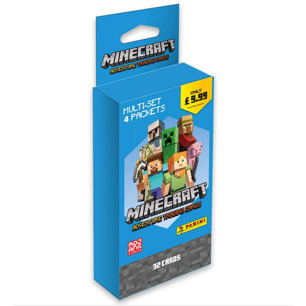 Minecraft Adventure Trading Card Collection Blister Pack