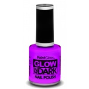 (12 Pack) PaintGlow Glow In The Dark Nail Polish (violet) 10ml