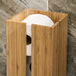 Bamboo Toilet Roll Holder| M&W - Image 4